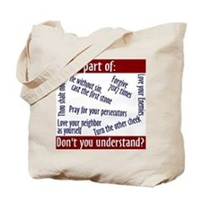 Tote Bag - What part of...