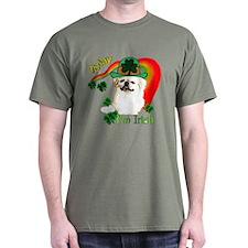 St Patty Pekingese T-Shirt