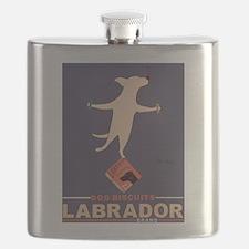 Labrador Brand - Yellow Lab Flask