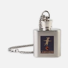 Labrador Brand - Yellow Lab Flask Necklace