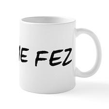 I Blame Fez Mug