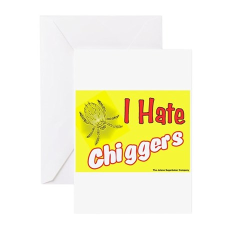 I Hate Chiggers Greeting Cards (Pk of 10)