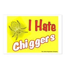 I Hate Chiggers Postcards (Package of 8)