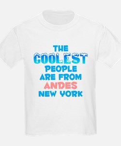 Coolest: Andes, NY T-Shirt