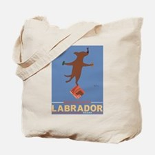 Biscuits Labrador - Chocolate Lab Tote Bag