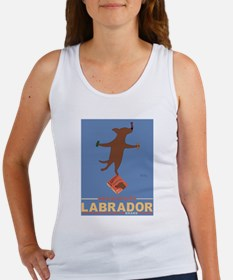 Biscuits Labrador - Chocolate Lab Women's Tank Top