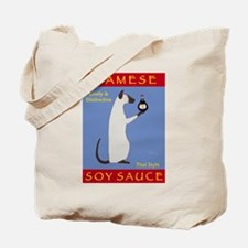 Siamese Soy Sauce Tote Bag