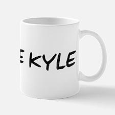 I Blame Kyle Small Small Mug