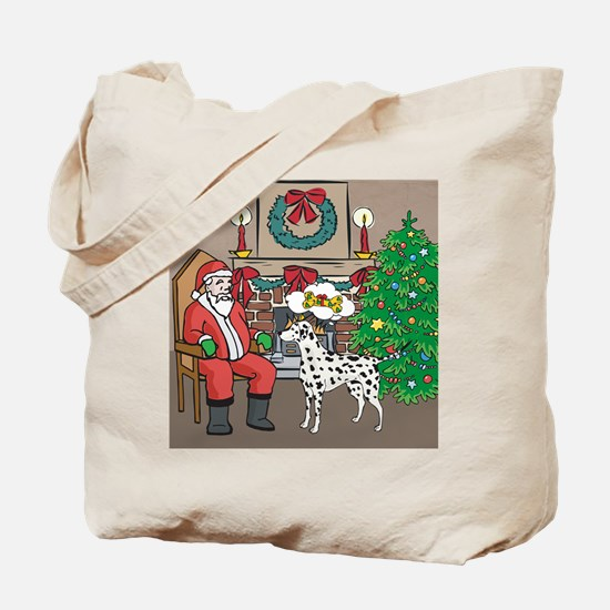 What A Dalmatian Wants For Christmas Tote Bag