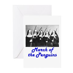 March of the Penguins Greeting Cards (Pk of 20)