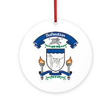 Dalmatian Coat Of Arms Ornament (Round)