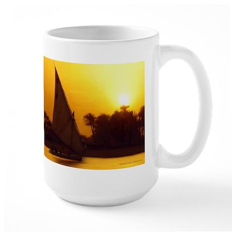 The Golden Nile Large Mug