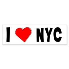 I Love NYC...Bumper Bumper Sticker