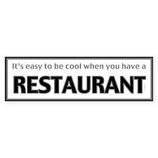 Restaurant Owner Bumper Bumper Sticker