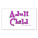 Adult Child Rectangle Sticker