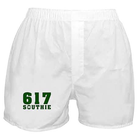 617 Southie, South Boston Boxer Shorts