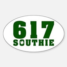 617 Southie, South Boston Oval Decal