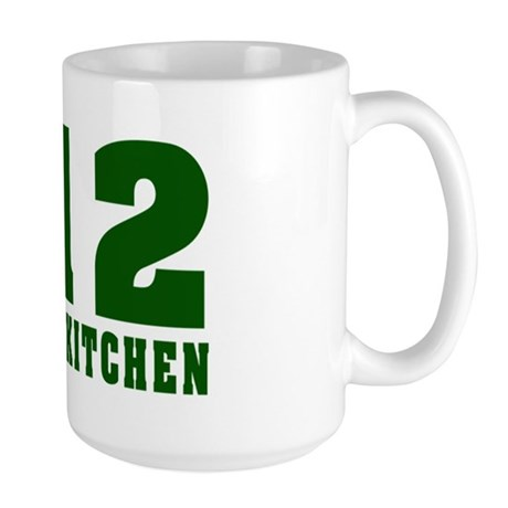 212 Hells Kitchen New York Large Mug