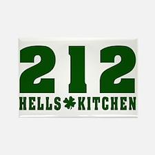 212 Hells Kitchen New York Rectangle Magnet