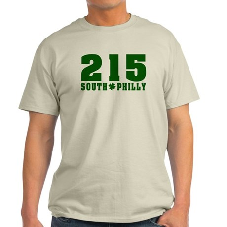 215 South Philly Light T-Shirt