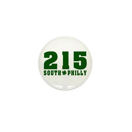 215 South Philly Mini Button