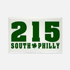 215 South Philly Rectangle Magnet