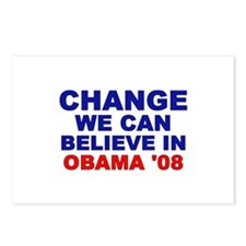 Change We Can Believe In Postcards (Package of 8)