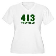 413 The Field Springfield, Massachusetts T-Shirt