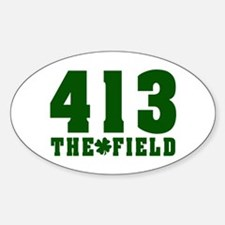 413 The Field Springfield, Massachusetts Decal