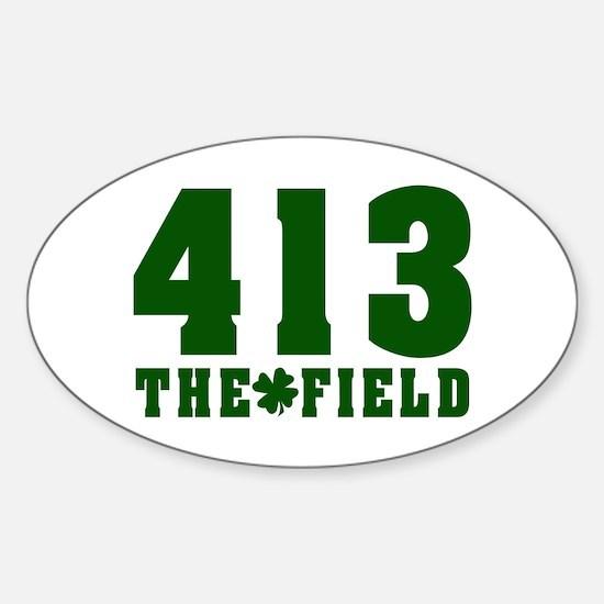 413 The Field Springfield, Massachusetts Decal