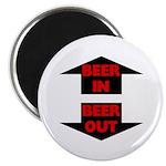Beer In Beer Out Magnet
