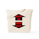 Beer In Beer Out Tote Bag