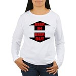Beer In Beer Out Women's Long Sleeve T-Shirt