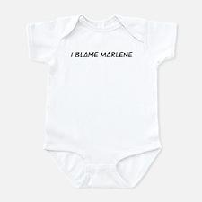 I Blame Marlene Infant Bodysuit
