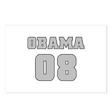 Silver Varsity Obama '08 Postcards (Package of 8)