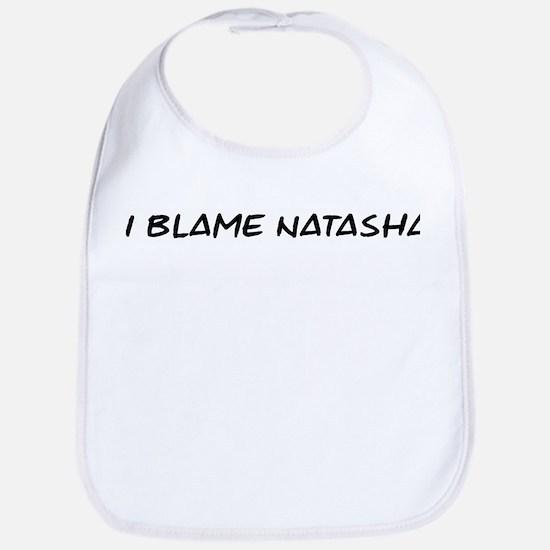 I Blame Natasha Bib