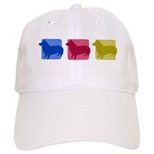 Color Row Swedish Vallhund Hat