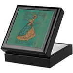 Security Styles Vintage Ad Art Keepsake Box