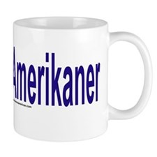 """I am not American"" Danish Mug"