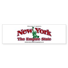 New York Bumper Bumper Sticker
