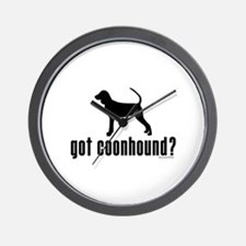 got coonhound? Wall Clock