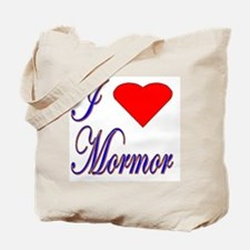 I Love Mormor Tote Bag