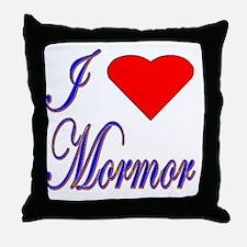 I Love Mormor Throw Pillow