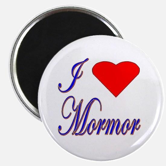 I Love Mormor Magnet