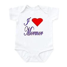 I Love Mormor Infant Creeper