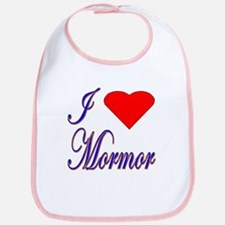 I Love Mormor Bib