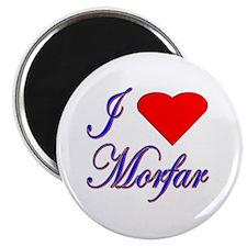 I Love Morfar Magnet