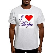I Love Morfar Ash Grey T-Shirt
