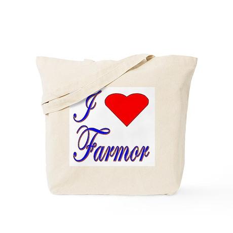 I Love Farmor Tote Bag