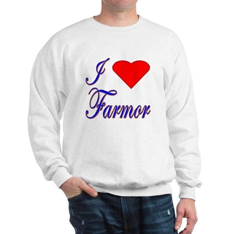 I Love Farmor Sweatshirt